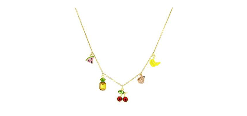 Juicy Couture Mixed Fruit Luxe Wishes Necklace