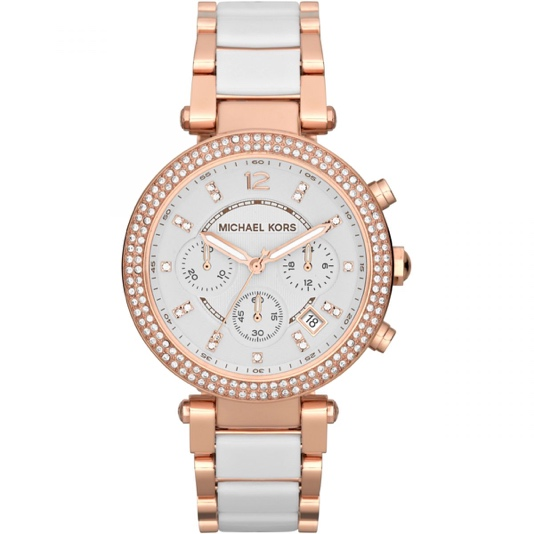 Ladies' Michael Kors Parker chronograph watch