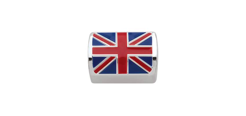 Ladies Union Jack Bead Charm