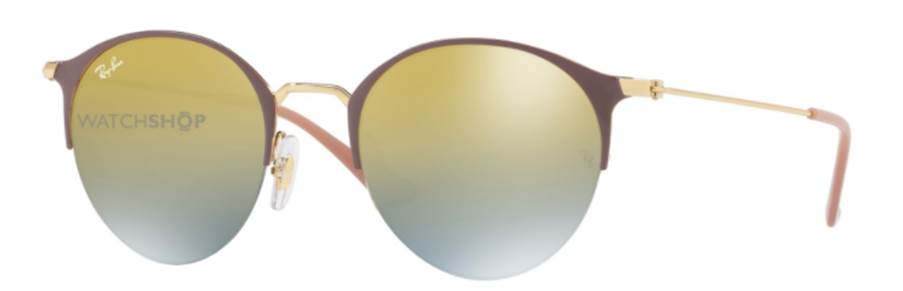 Ray-Ban yellow tinted sunglasses
