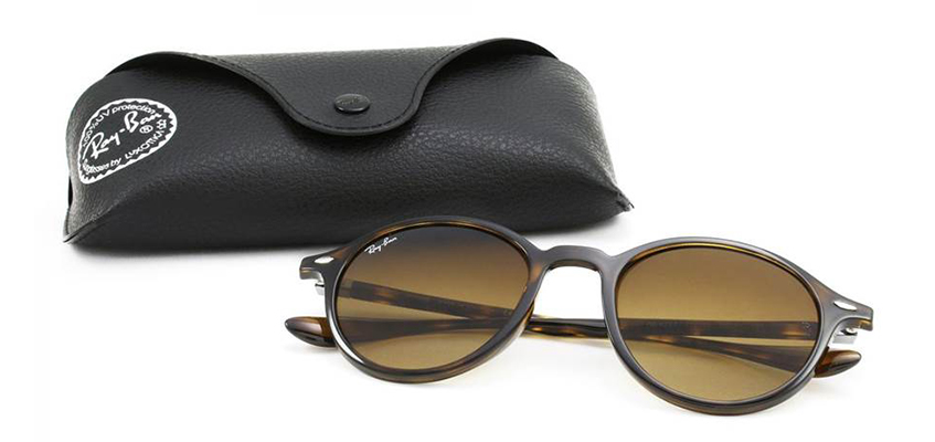 Ray-Ban oval tortoiseshell sunglasses