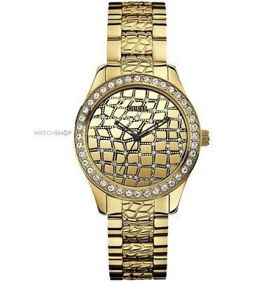 Guess Croco Glam Ladies Watch
