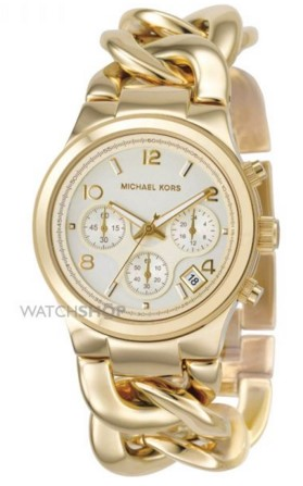 Michael Kors ladies chronograph watch