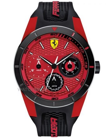Scuderia Ferrari Men's  RedRev T Watch