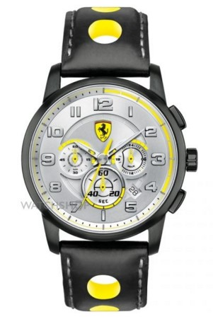 Scuderia Ferrari Men's  SF107 Heritage Chronograph Watch