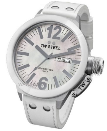 TW Steel Ladies'  CEO Ceramic 45mm Watch
