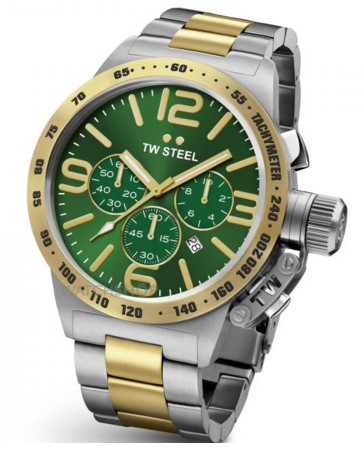 TW Steel Men's  Canteen Chronograph 45mm Watch