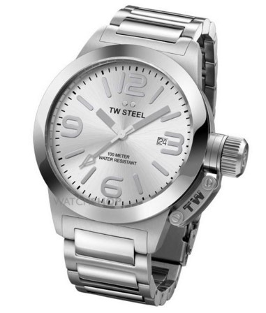 TW Steel Unisex  Canteen 40mm Watch