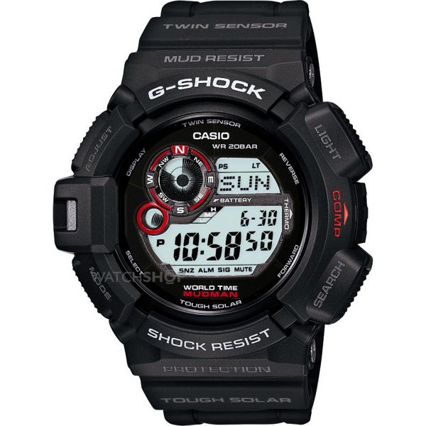 Casio Men's G-Shock Mudman Alarm Chronograph Watch