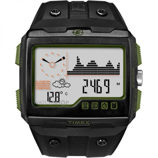 Timex Men's Indiglo Expedition WS4 Alarm Chronograph Watch