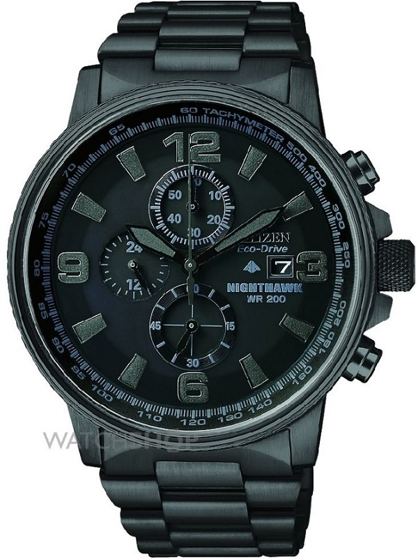 Citizen Men's Nighthawk Chronograph Eco-Drive Watch