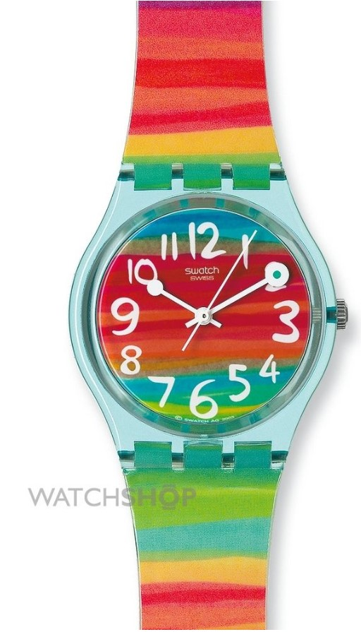 Swatch Unisex Color The Sky Watch