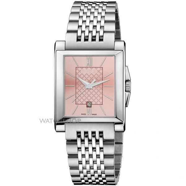 Gucci Men's G-Timeless Rectangle Watch