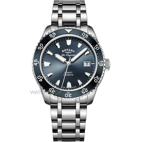 Rotary Men's Swiss Made Legacy Dive Automatic Watch