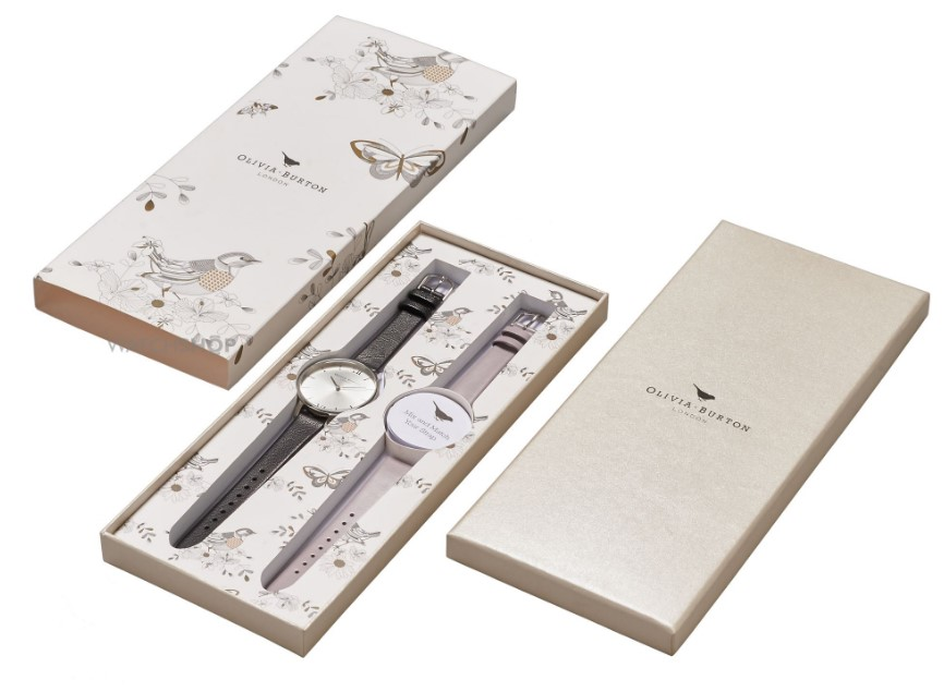 Olivia Burton Ladies' Big Dial Gift Set Watch