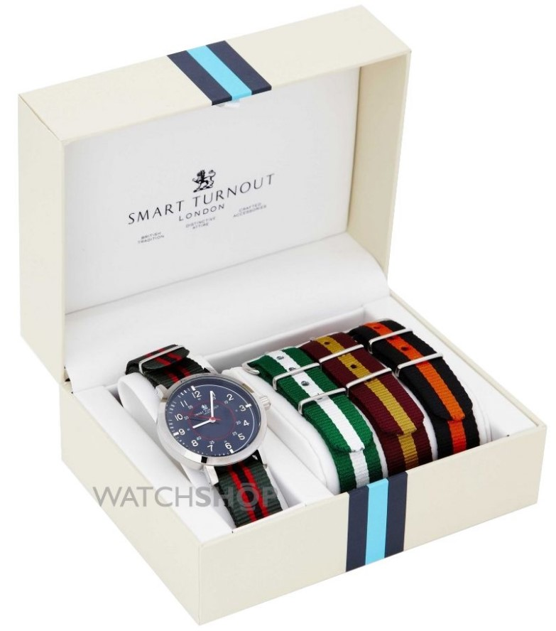 Smart Turnout Men's College Watch Gift Set