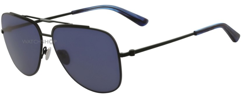 Calvin Klein Collection Black Ion-plated Steel CK8036S Sunglasses