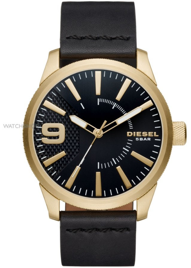 Distinctively Diesel Gold and Black watch