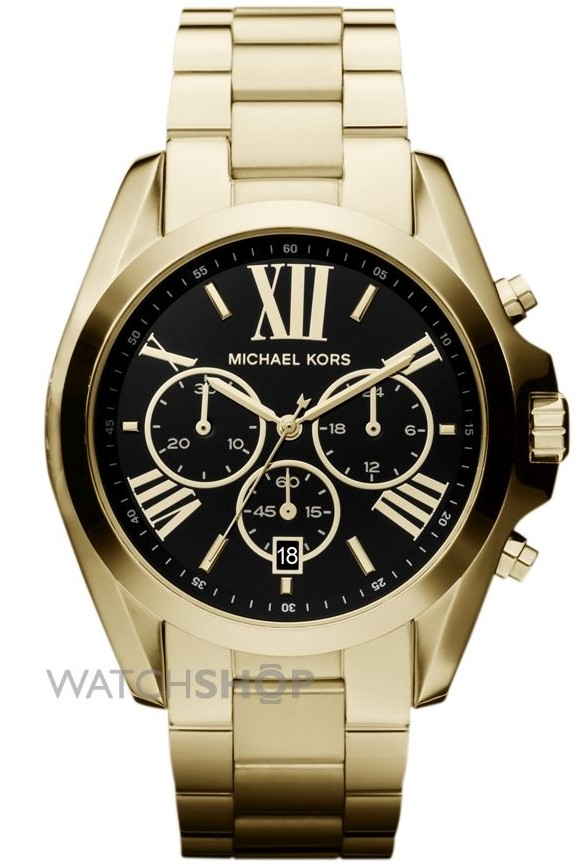 Michael Kors Gold and Black Watch