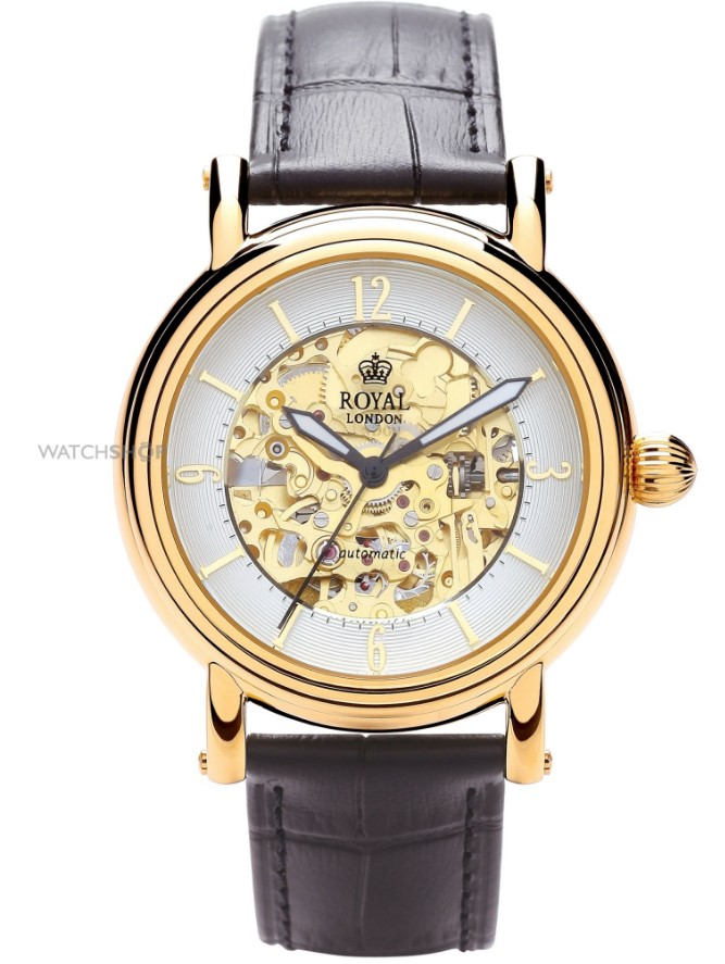 Royal London Gold and Black Watch