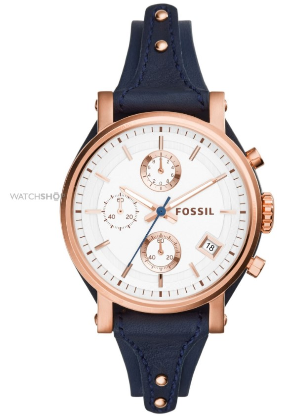 Fossil Ladies' Original Boyfriend Chronograph Cuff Watch