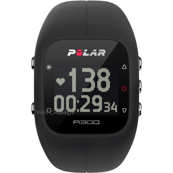 Polar Men's A300 Bluetooth Activity Tracker Heart Rate Bundle