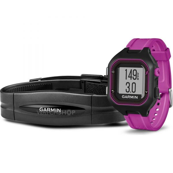 Garmin forerunner purple watch