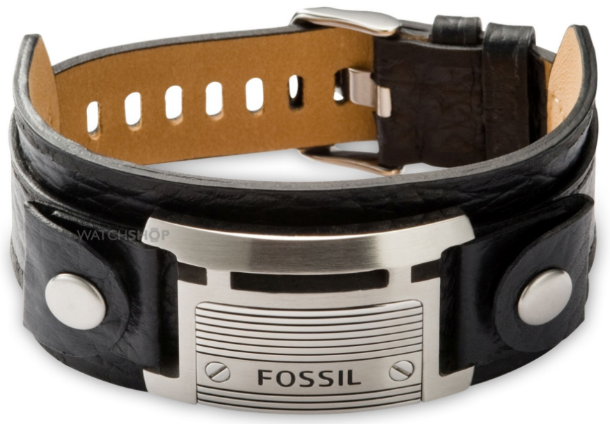 fossil mens casual bracelet