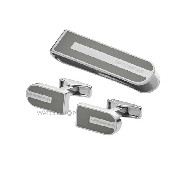 Emporio Armani men's cufflinks gift set