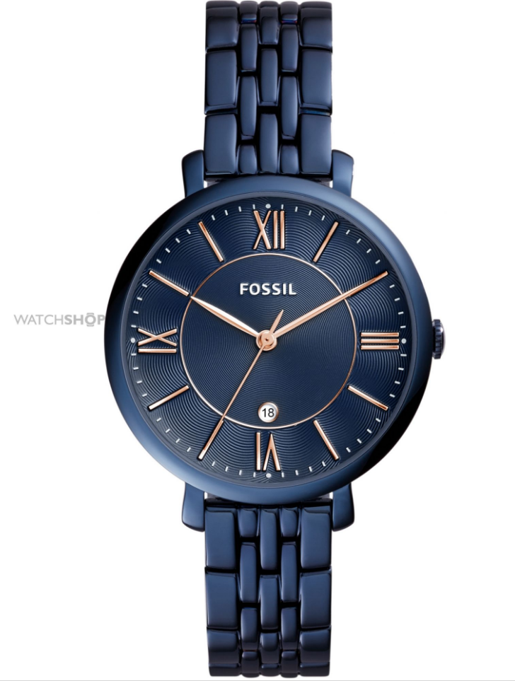 fossil ladies jaqueline watch