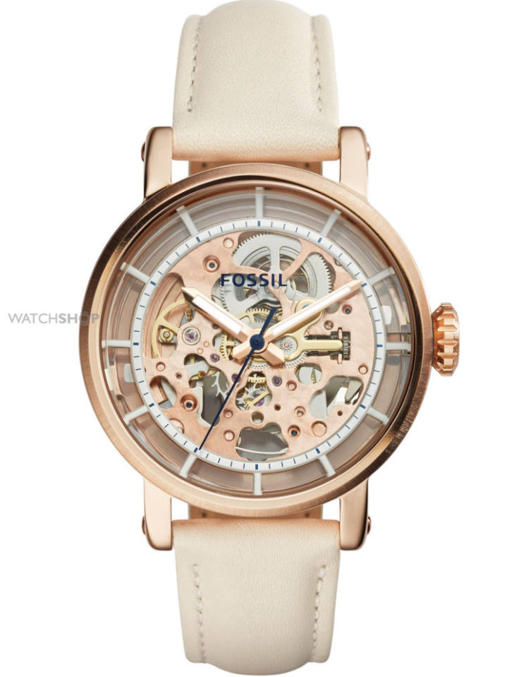 fossil ladies mechanicals automatic watch