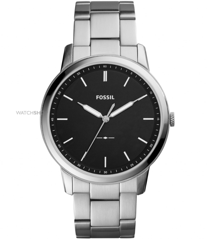 fossil mens minimalist watch