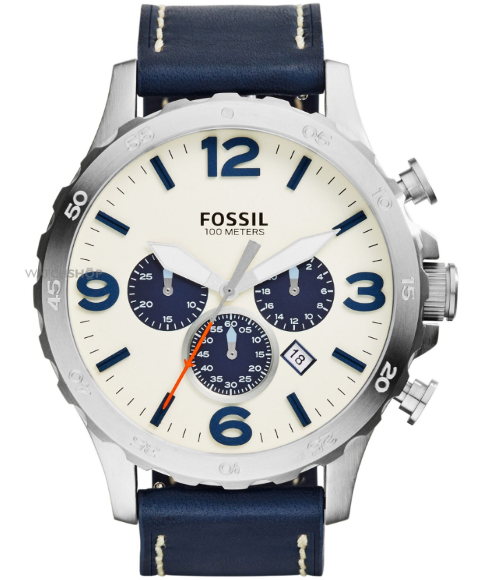fossil mens nate chronograph watch