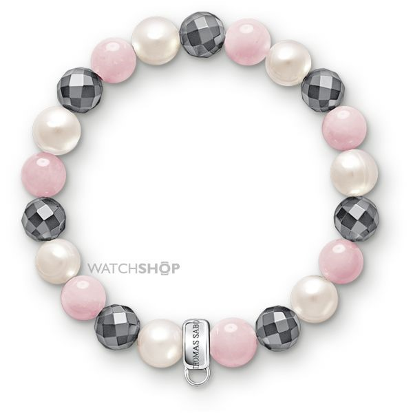 Thomas Sabo Jewellery Ladies' Sterling Silver Charm Club Bracelet