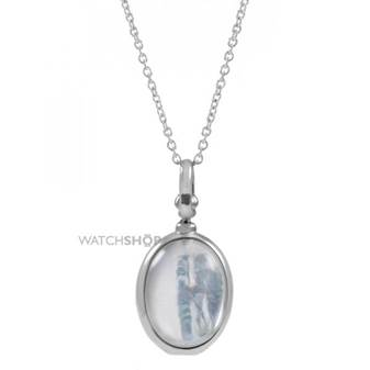 Jewellery Essentials Ladies Sterling Silver Mother of Pearl Locket AJ-37230775