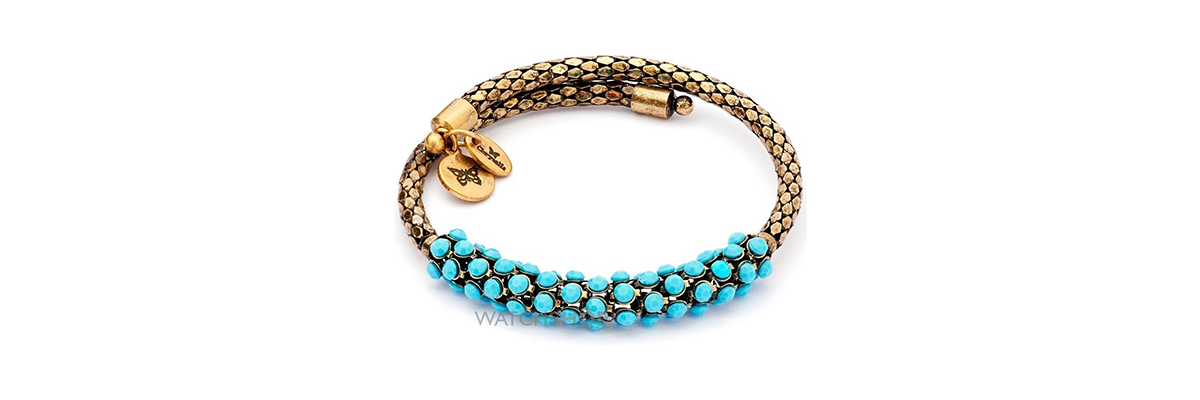 Chrysalis gold-plated Bohemia Originality bangle