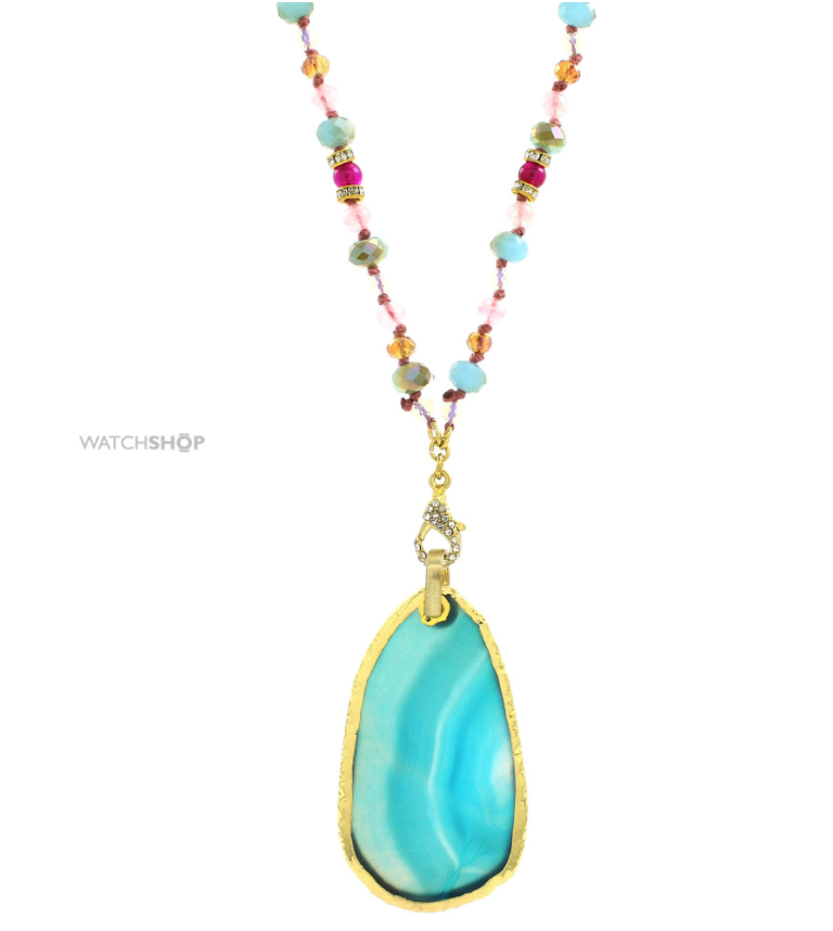 Lonna & Lilly base metal agate necklace