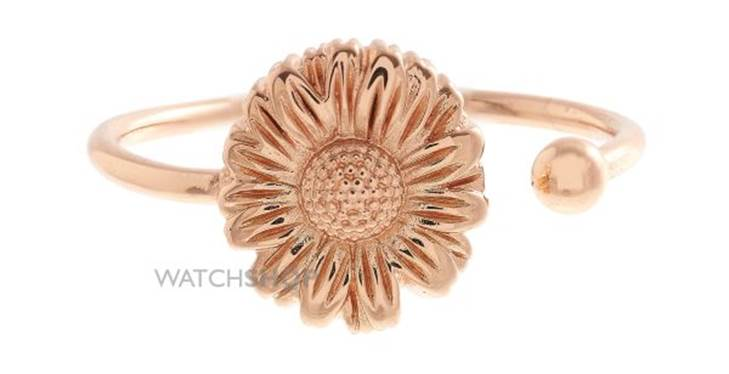 Olivia Burton flower show daisy open-ended ring