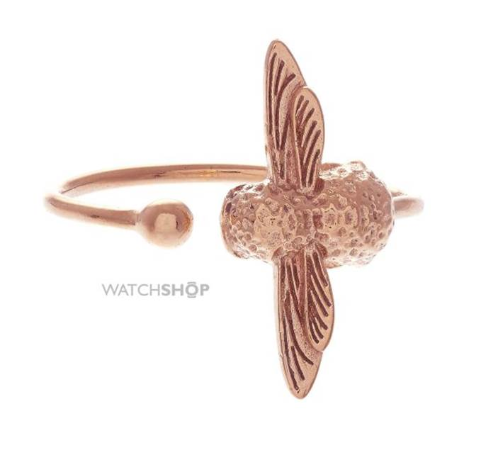 Rose Gold Plated Bee Ring