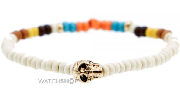 Icon Brand gold plated bead bracelet