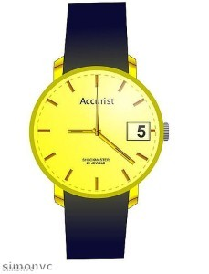 Accurist watches ''ahead of their time''
