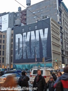 DKNY watches 'the toast of Hollywood'