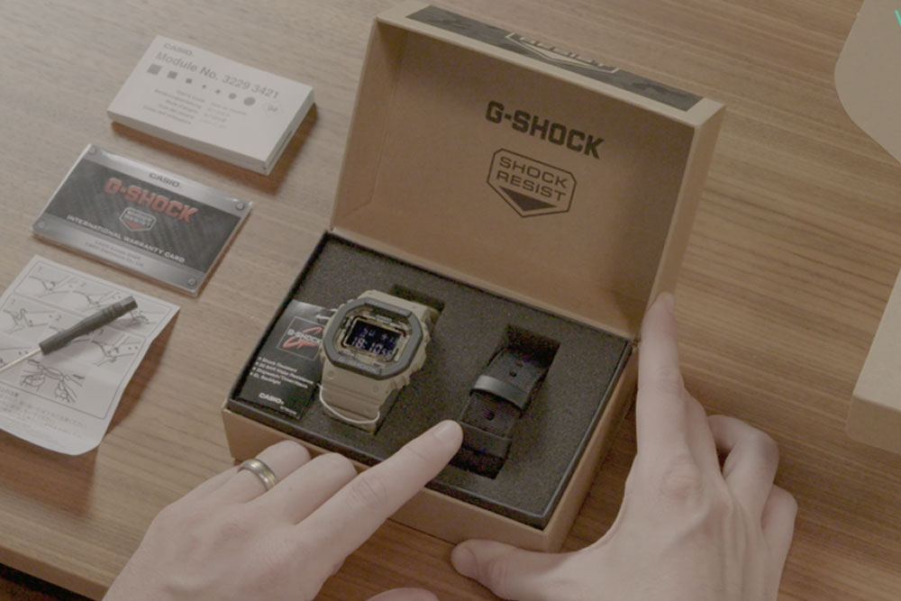 Unboxing the Casio G-SHOCK Classic Camouflage