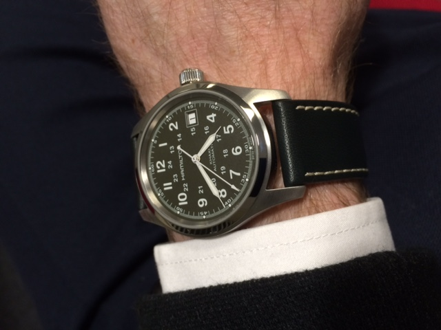 A Week With The Hamilton Khaki Field Watch