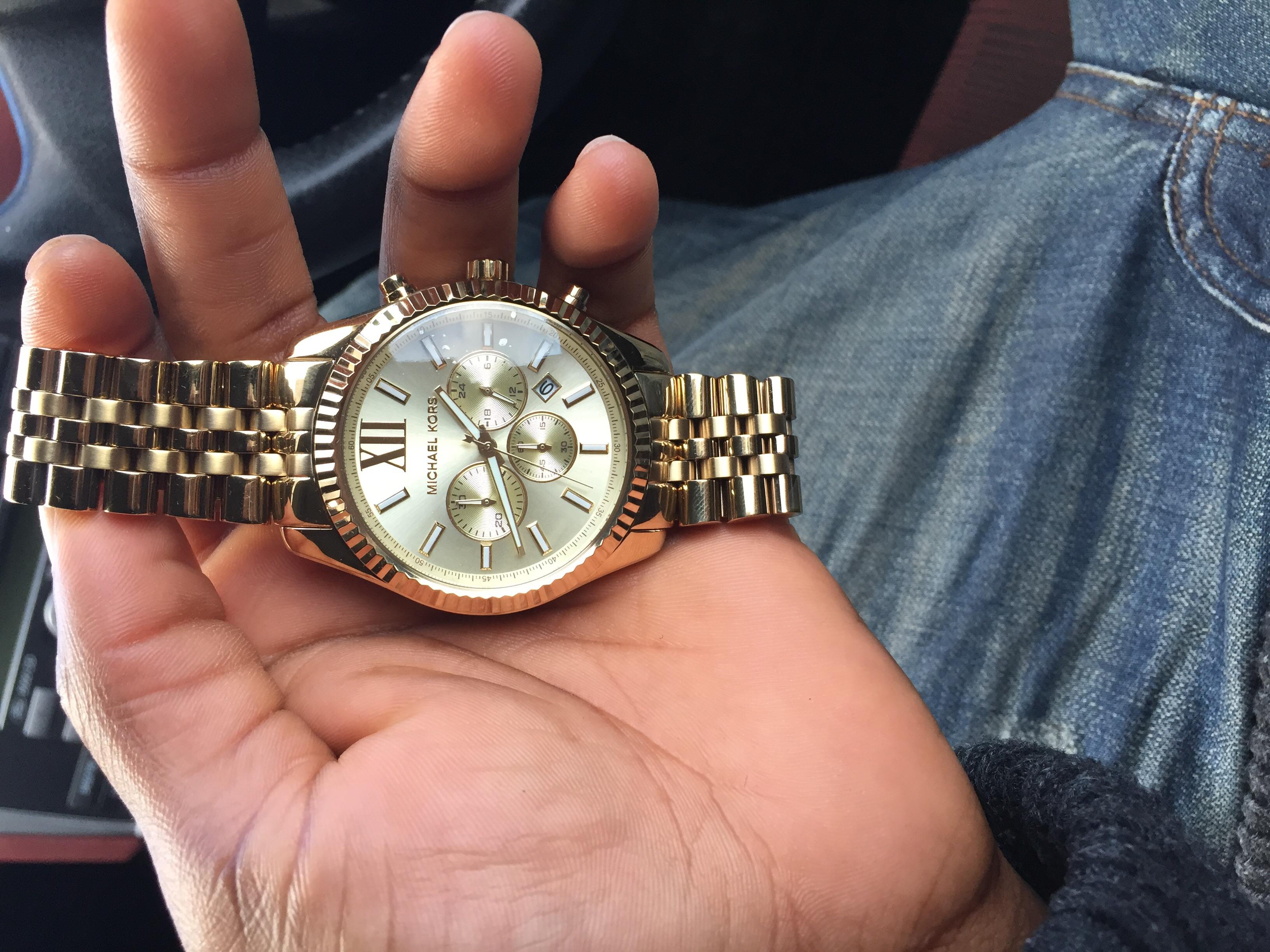 da44d4a498cd Gents Michael Kors Lexington Chronograph Watch (MK8281)