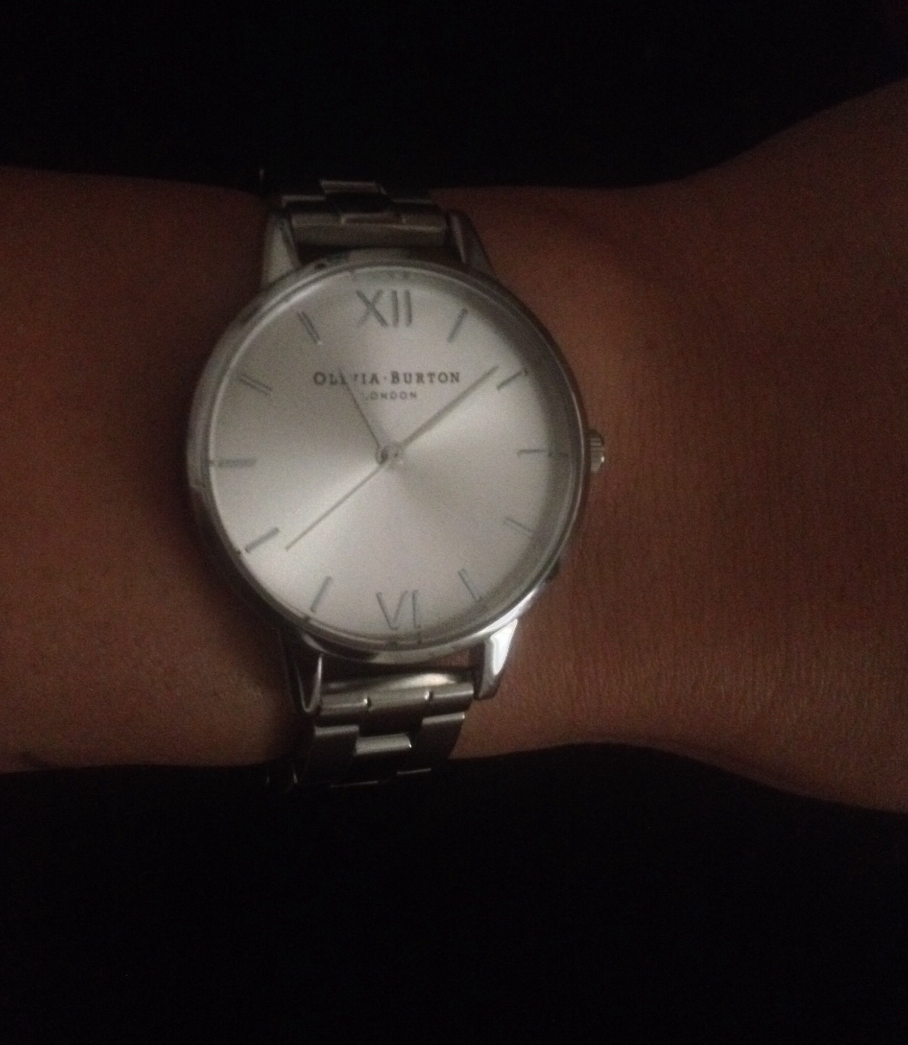 cb329941fcf8 Olivia Burton Silver Midi Watch. This item is exactly as described and is  beautiful. The design is simple but dainty