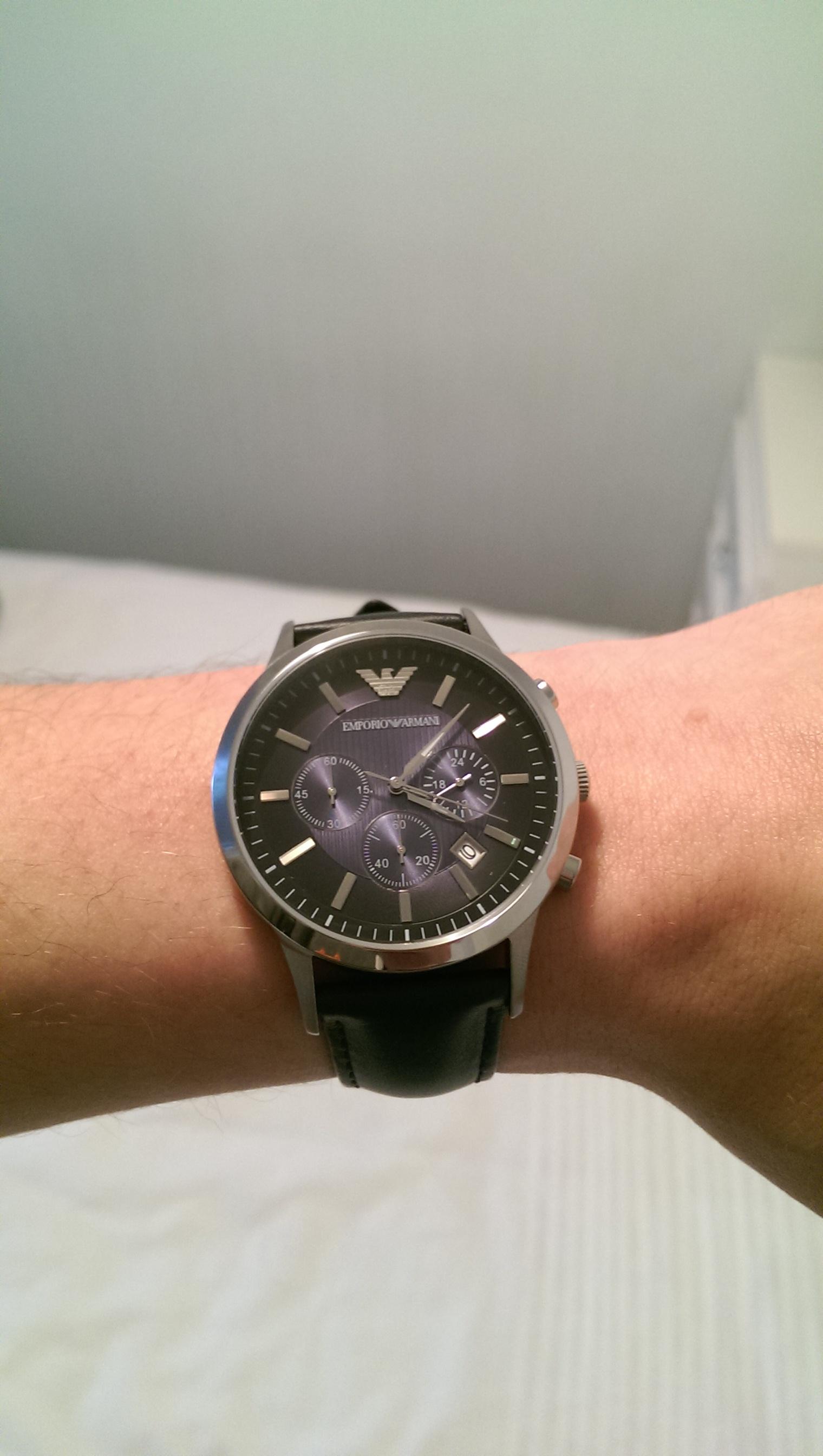9a8a00e7462 Gents Emporio Armani Chronograph Watch (AR2473)