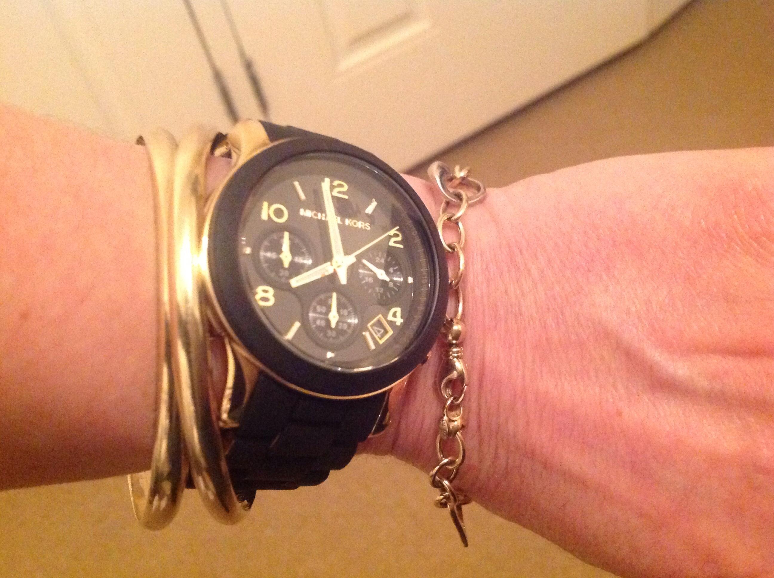 2f0cff53468 Ladies Michael Kors Runway Chronograph Watch (MK5191)