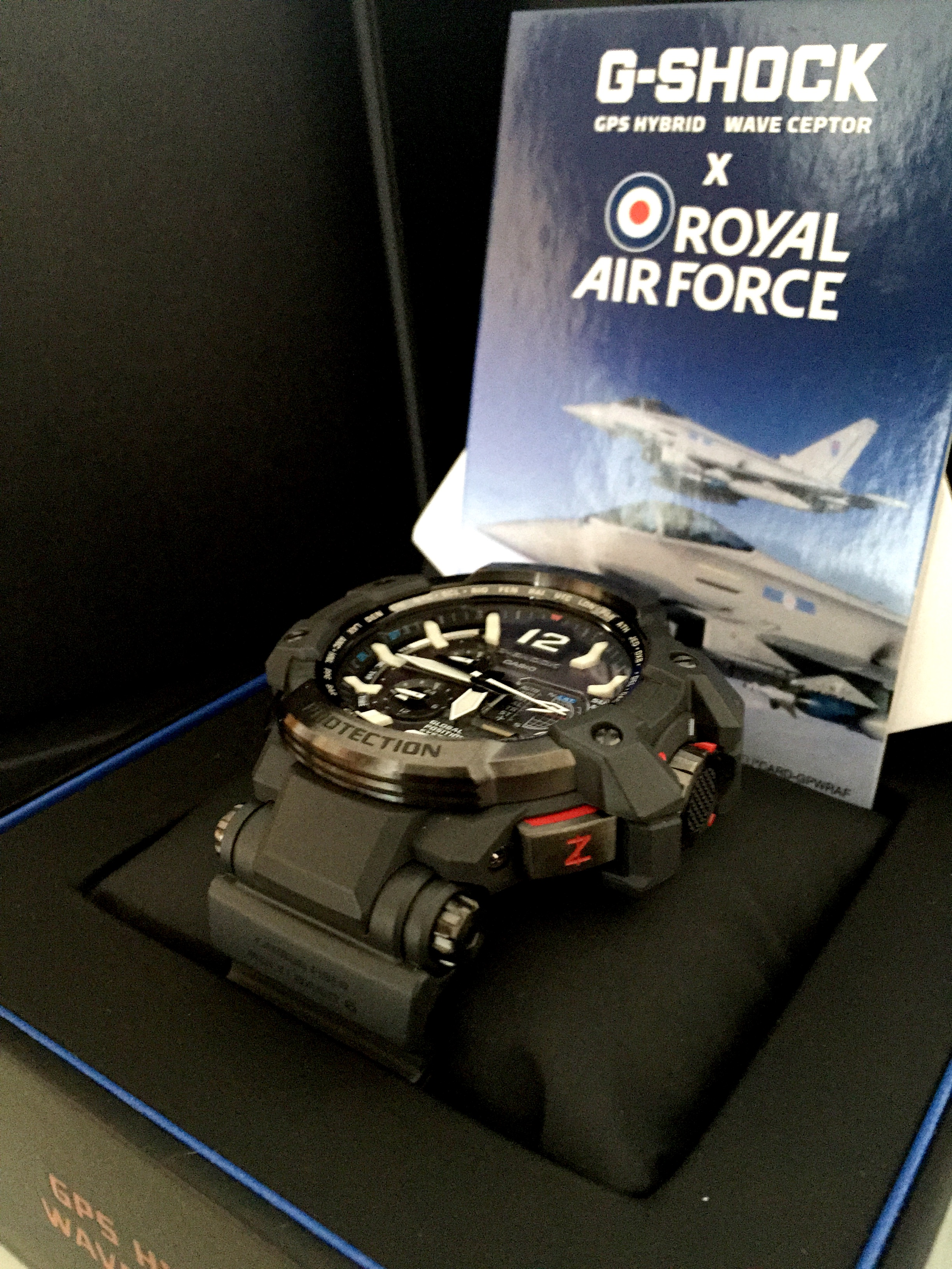 G-Shock x Royal Air Force GPW-1000RAF Watch G-Shock x Royal Air Force GPW-1000RAF Watch new images