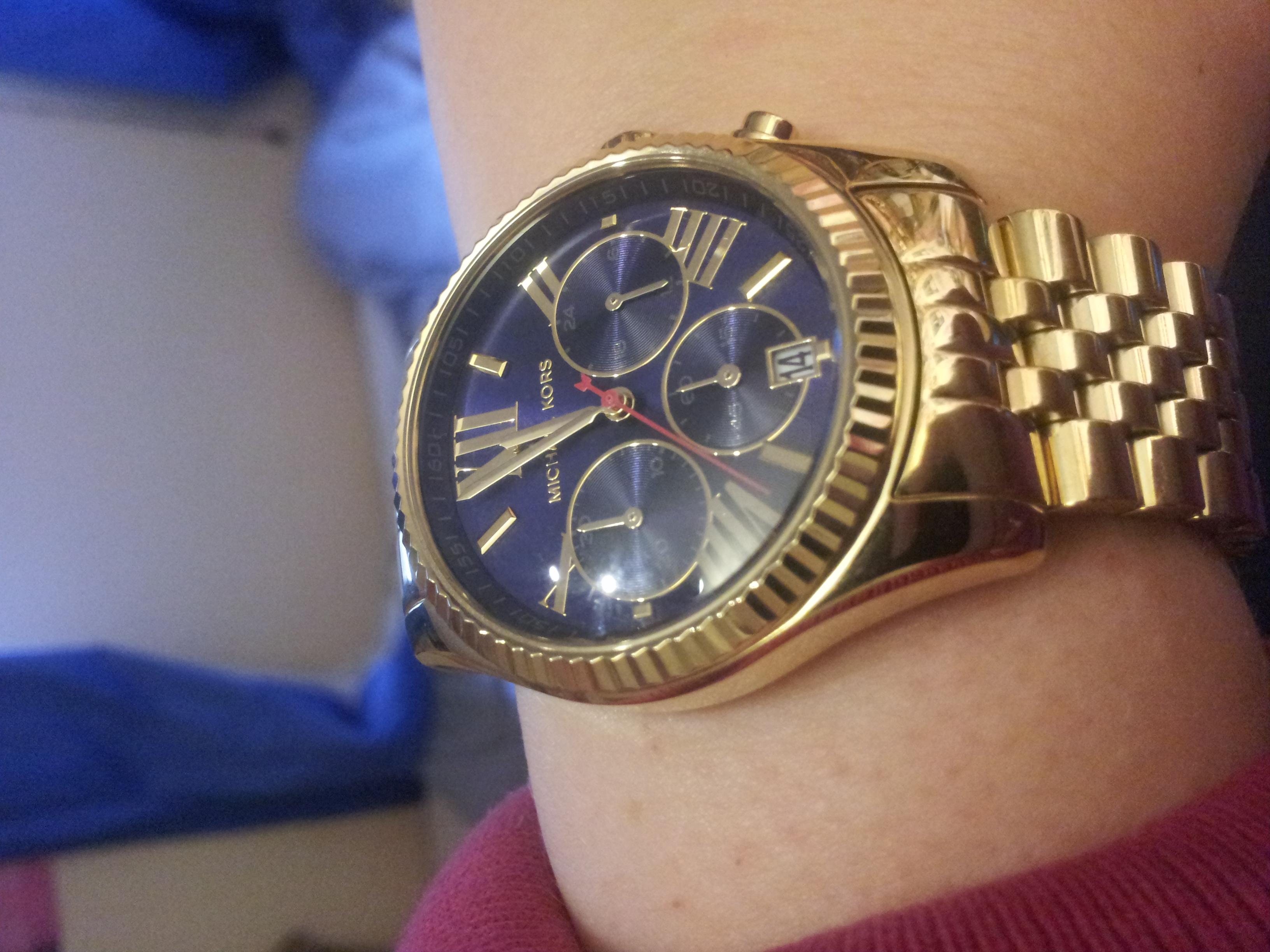 aa2694244d17 Ladies Michael Kors Lexington Chronograph Watch (MK6206)